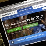 People can buy health insurance via the HealthCare.gov website.