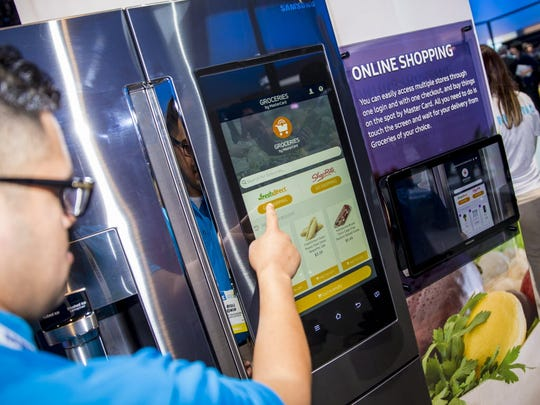 The new Groceries by MasterCard app will enable consumers to shop for and buy groceries directly from the Samsung Family Hub & Refrigerator.