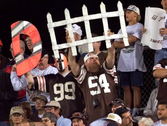 Cleveland Browns fans who spend an autumn weekend in