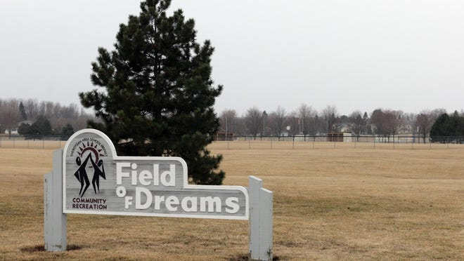 The Field of Dreams property as seen Thursday April 2, 2015, in Sheboygan.
