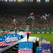 Travis Pastrana's Nitro Circus is coming to Indy