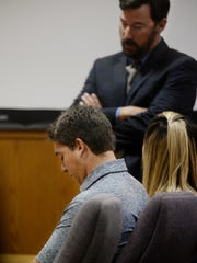 Kevin Hogrefe, left, was found guilty Friday of second-degree