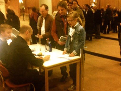 maestro autographs