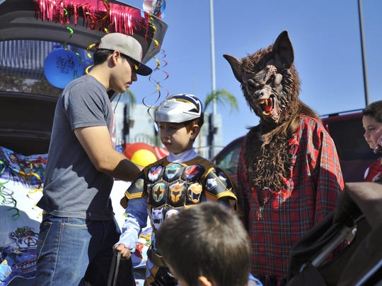 To give parents of children with special needs a safe Halloween alternative, Visalia's Parenting Network hosted its 5th annual Special Lives Without Limits celebration Saturday afternoon at Rawhide Stadium.