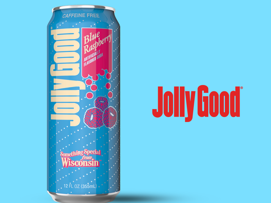 Jolly Good added blue raspberry to their permanent