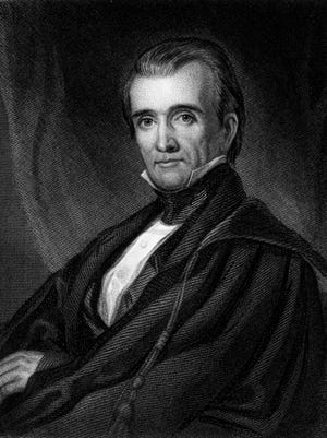 Portrait of President James Polk