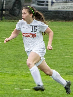 Brighton's Alexis Shatrau received honorable mention All-State last season, scoring 9 goals and 9 assists.