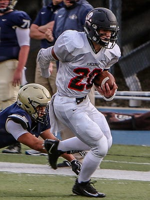 Pinckney's Levi Collins is the leading rusher and among the leading tacklers in Livingston County.
