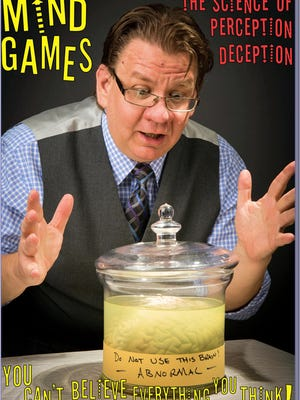 """""""A mind-blowing presentation"""" is promised  by Chicago's William Pack, magician, mentalist, entertainer, storyteller and lecturer. Hi Mind Games program is slated for Sept. 5, at the Muskego Public Library, S73W16663 Janesville Road."""