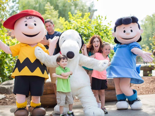 "New entertainment will include ""Peanuts Block Party"""