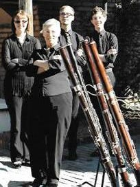 The Southwestern Bassoon Quartet will perform from 2 to 4 p.m. on Saturday at Morgan Hall, 109 E. Pine St.