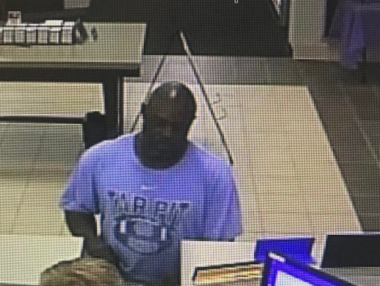 Asheville Police released this photo of the suspect