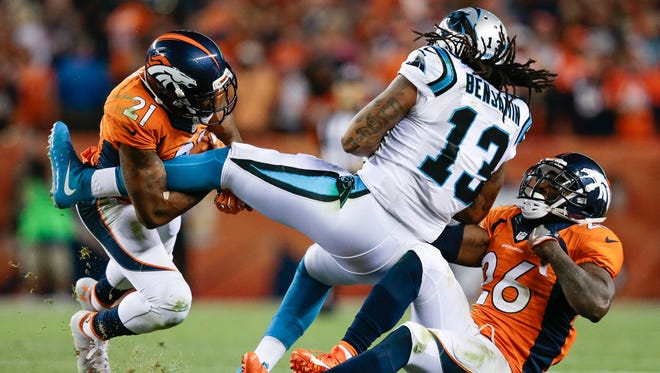 After missing all of last season, Panthers wide receiver Kelvin Benjamin caught six passes for 91 yards and a TD in Week 1
