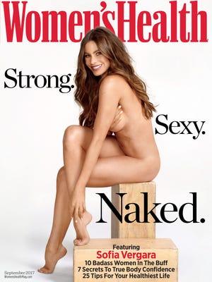 Sofía Vergara on September cover of 'Women's Health.'