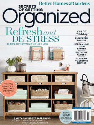 DeClutter Coach Deb Cabral worked with a mother and daughter to create and organize a beautiful craft area that is featured in the Summer 2020 issue of Secrets of Getting Organized.