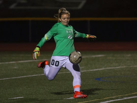 Royal High senior goalkeeper Marissa Froio signed to play for Cal State Northridge on Wednesday.