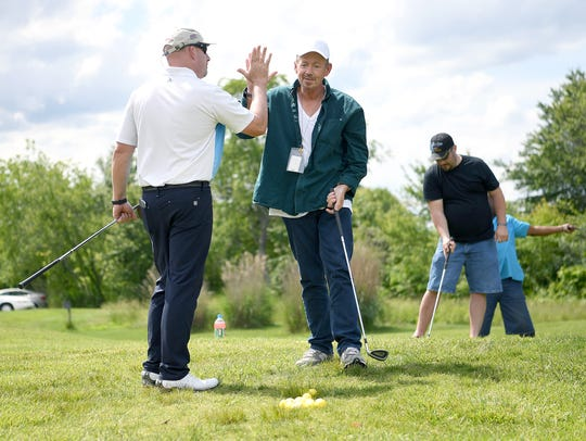 PGA certified professional Brian Oliver gives veteran