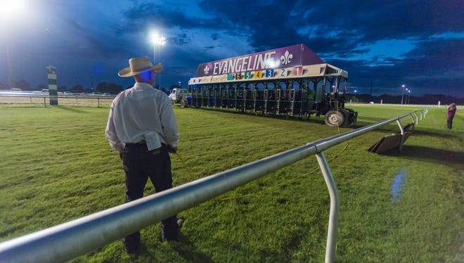 Trainers at Evangeline Downs began exercising their horses Monday, after a state district court removed a month-long decision by the facility's ownership that prohibited the use of the track due to health concerns associated with the coronavirus pandemic.