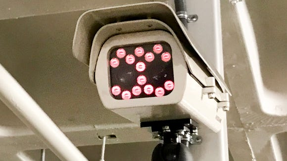 The camera that watches over you at the Westfield Century