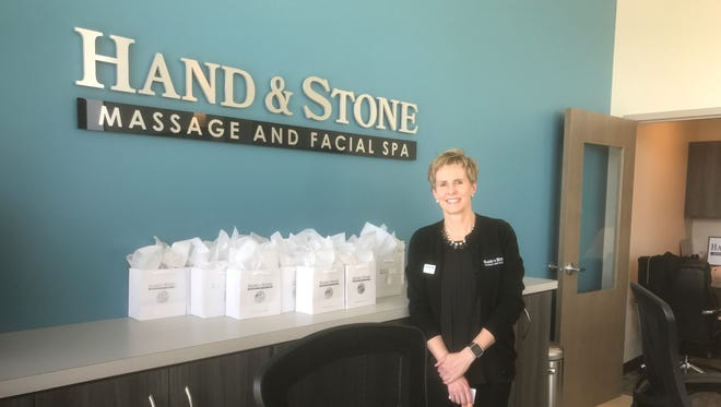 Debbie Granger is the owner of the new Hand & Stone store in The Shoppes at Fox River in Waukesha. The store offers massages, facials and hair removal and accepts reservations and walk-in clients.