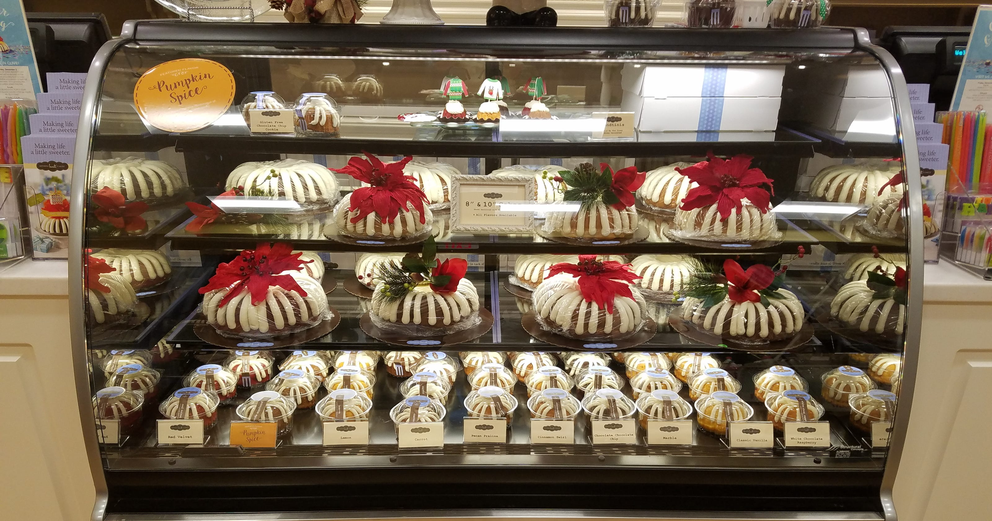 Bundt Bakery Featuring Big And Bite Sized Cakes Opens In Clive