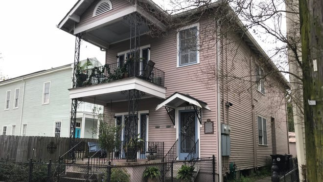 "The home of Original Dixieland Jass Band cornetist Nick LaRocca in New Orleans. LaRocca claimed he composed ""Tiger Rag."""