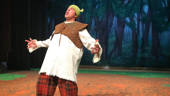 "Blind Brook High School presents ""Shrek"" at 7 p.m., March 8, 7:30 p.m., March 9; 2 and 7:30 p.m., March 10."
