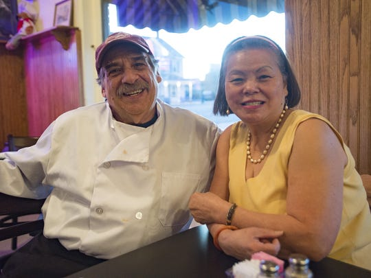 Tom and Rose Casabona, the owners of Papa's Table in