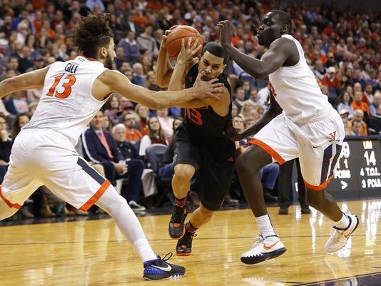 NCAA Basketball: Miami at Virginia