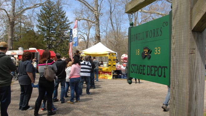 Allaire State Park hosted its first ever BBQ and Brew Fest on Saturday.