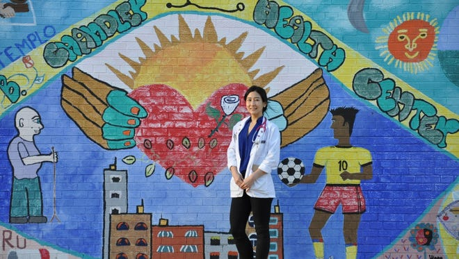 Stephanie Oh, a medical student and student director of the Promise Clinic, found that a personal connection between doctor and patient is essential to providing the best care.