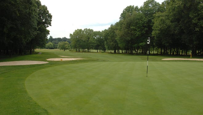 """The 13th hole at the Emerson Golf Club, which was named one of the """"Best Places to Play"""" by Golf Digest in 2008-09."""