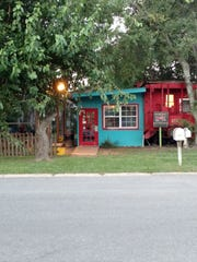 The Crum Box Gastgarden is a quaint spot serving food and entertainment of the local variety.