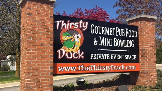 The Thirsty Duck, a pub with mini bowling, has opened