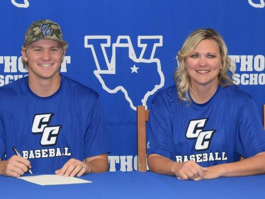 Windthorst's Brady Tackett signed to play baseball