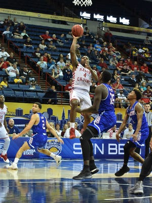 Frank Bartley IV scored a game-high 19 points in UL's Sun Belt Conference Tournament loss to Texas-Arlington on Saturday.