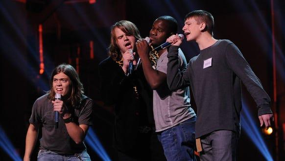 American Idol Group Night