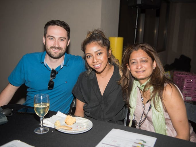 Greg Frazier,Ashley Torres and Dr. Binita Prajapati.