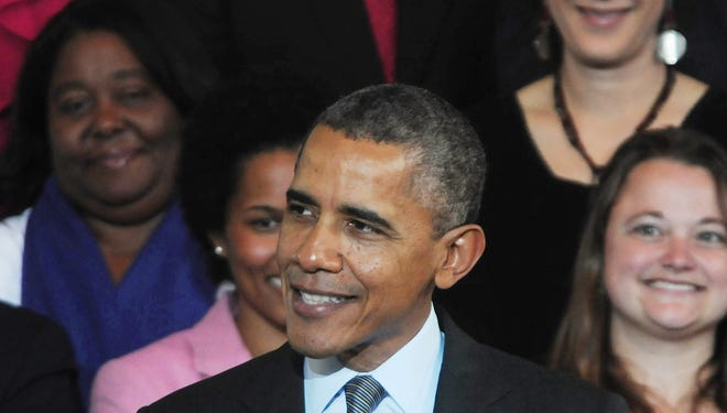 President Obama congratulated Democratic winners Tuesday night.