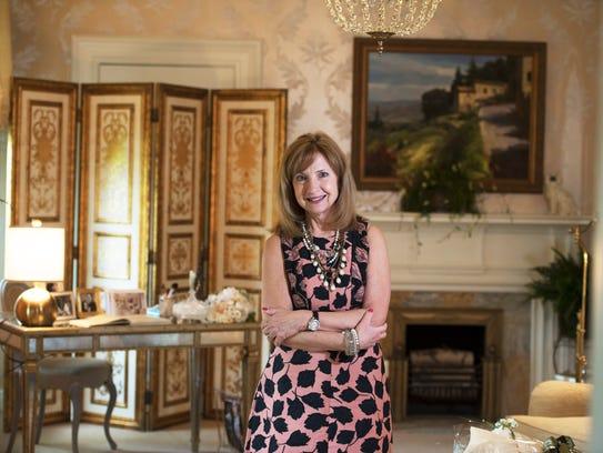 Diane Durocher, a designer based in Ramsey.