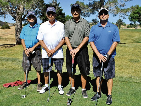 Members of the Griffin Propane team were winners at last year's Gila Classic Golf Tournament. The four-person scramble returns for the 26th year on June 13 at the Silver City Golf Course. Courtesy Photo