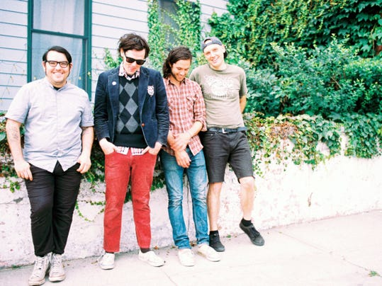 Beach Slang is, from left, Ruben Gallego, James Alex, Ed McNulty and JP Flexner. The band will play the Chameleon Club in Lancaster on Oct. 17.