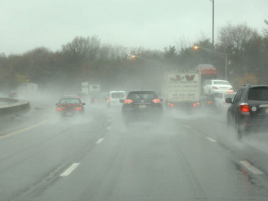 Driving in rain conditions