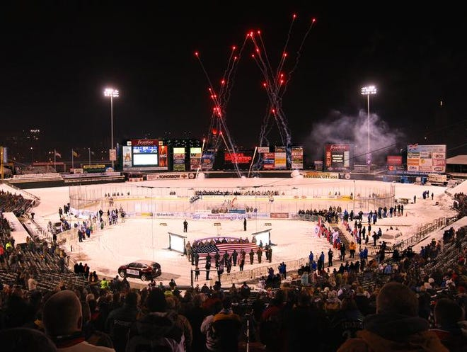 More than 11,000 people attended the Rochester Amerks game on Dec. 13, the opening night of the Frozen Frontier.