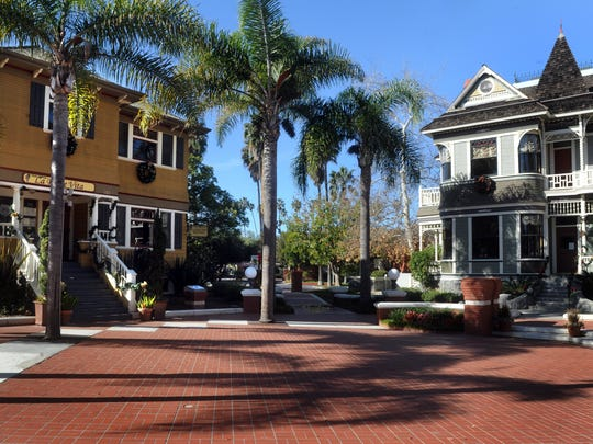 Several historic homes in Oxnard were relocated to