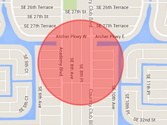 Cape Coral police are investigating a shooting in the 2900 block of Southeast Eighth Place.