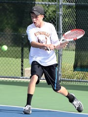 Northville's Ryan Gallagher captured the No. 3 singles
