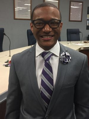 The Vineland school board named Cedric P. Holmes to fill the unexpired term of Joe Pagano, who stepped down on April 1.