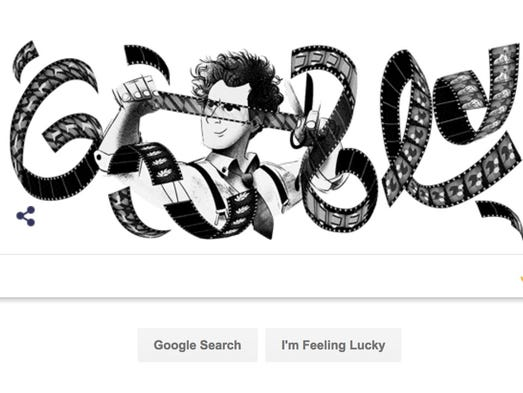 Google's tribute to Sergei Eisenstein, the Soviet director