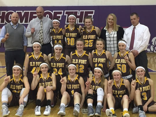Old Fort earned a sectional crown Saturday.